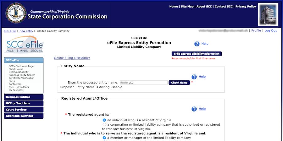 Forming An LLC In Virginia