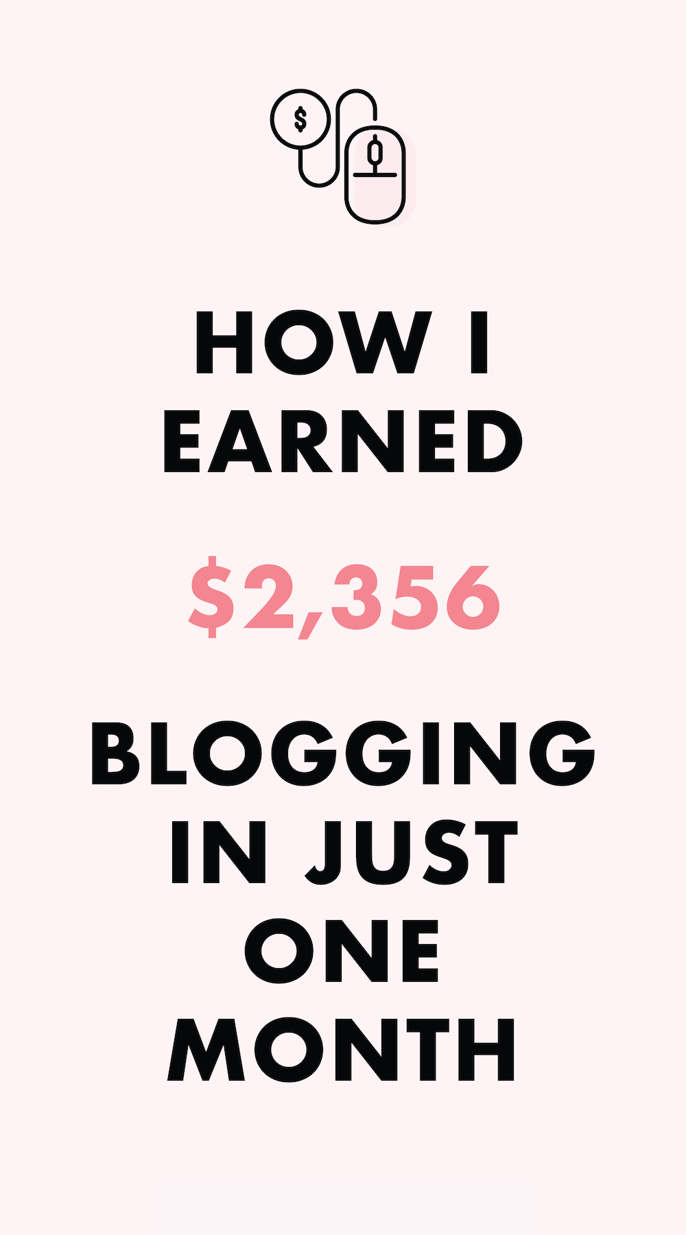 How I earned 2K blogging in just one month - October 2017