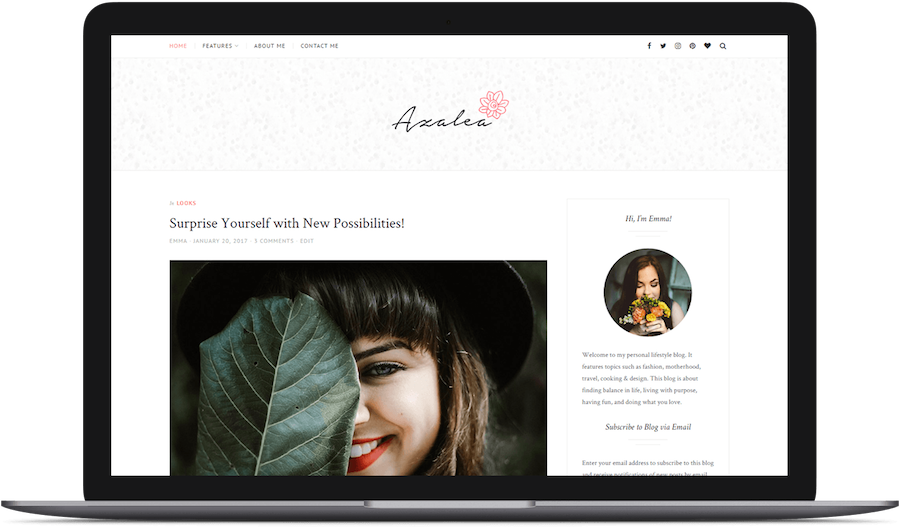 Azalea Free WordPress Theme