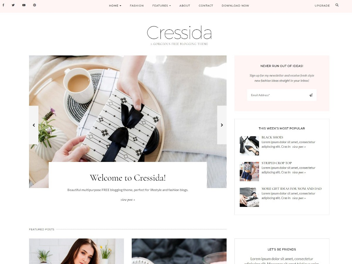 Cressida Theme